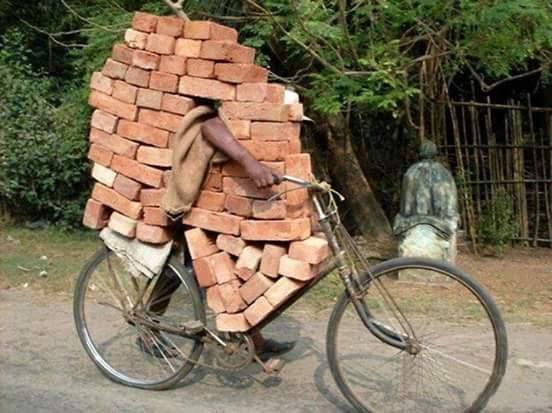 aglomeratie greutate pe bicicleta