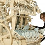 Masina muzicala cu 2000 de bile
