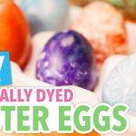 Cum vopsiți ouăle natural, fără vopsea chimică și fără coloranți artificiali? Iată rezultatul!