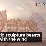 Sculpturile dinamice ale lui Theo Jansen