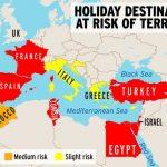 EXPLOZIV! ISIS a publicat Harta Terorii! Care sunt zonele cu risc de atac?