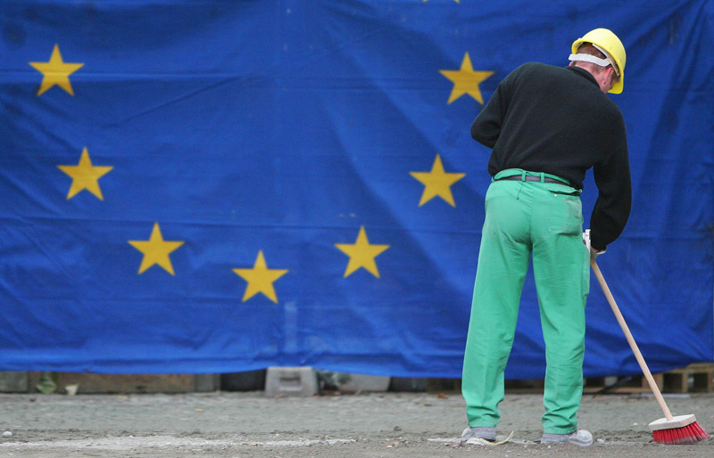 salarii muncitori romani fără muncă, românii din UE