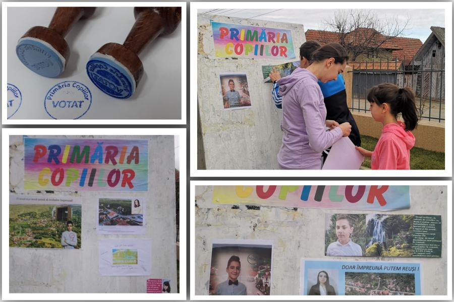 Premiera nationala in comuna din Romania cu cele mai multe fonduri europene: Copiii participa la alegeri si pot alege investitii